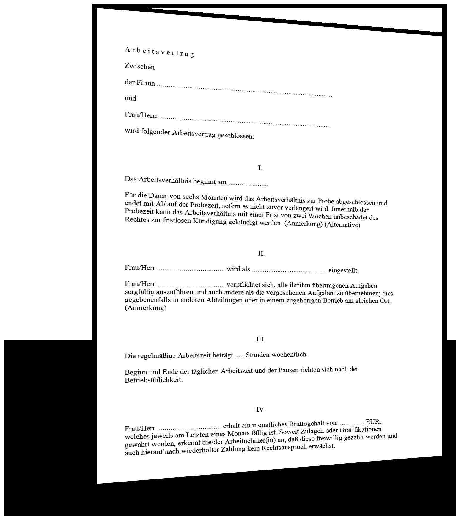 kndigung arbeitsvertrag den arbeitsvertrag kndigen mit vorlage oder ...
