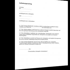 Befristeter Arbeitsvertrag Muster Kostenloser Download