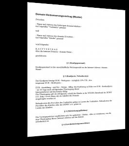 domain-veraeusserungsvertrag
