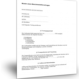 Muster Eines Software Service Vertrages Standardvertraegede